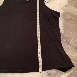 Universal Thread Tops - NEW Universal Thread Faded Black Muscle Tank Top